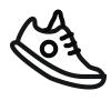 logo menovky, etiketky na obuv