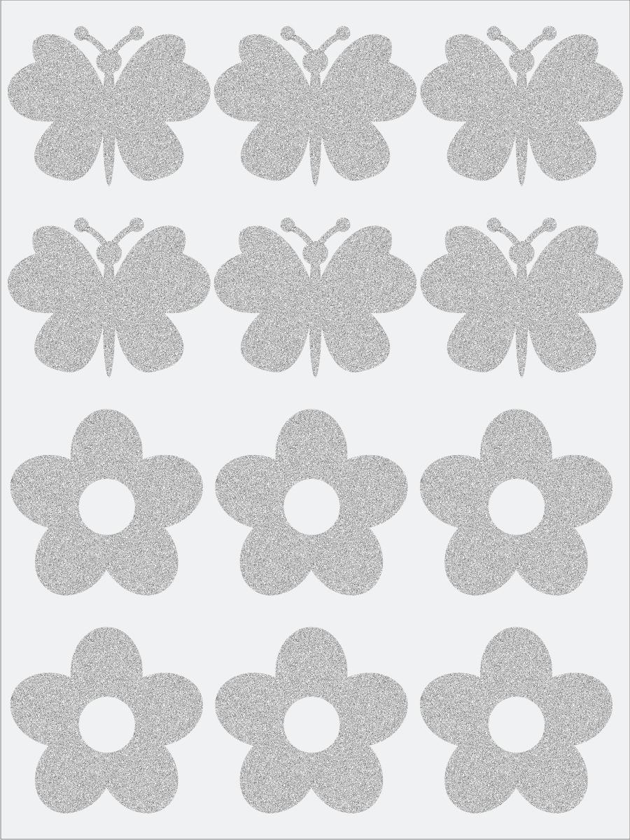 Kvietky a motýle 3